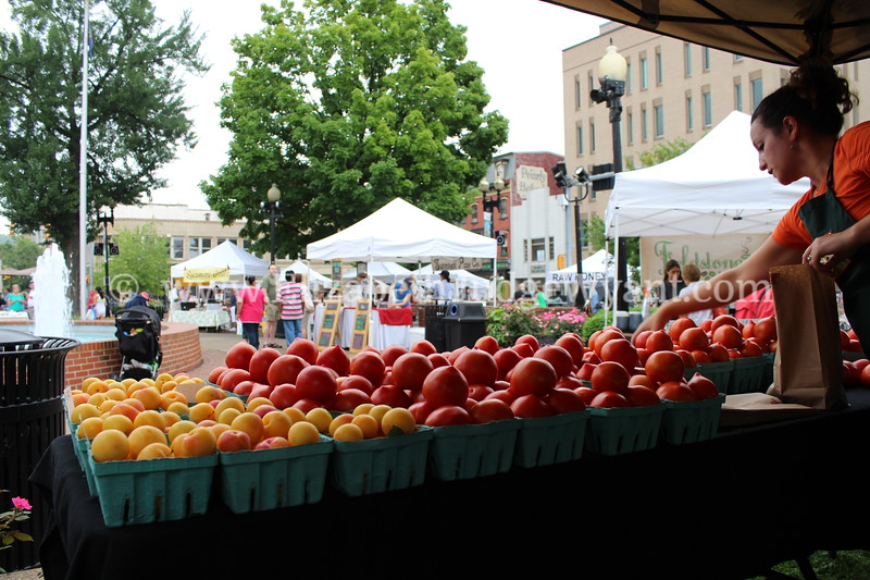 Easton Farmers Market, Easton, PA 7/13/2013