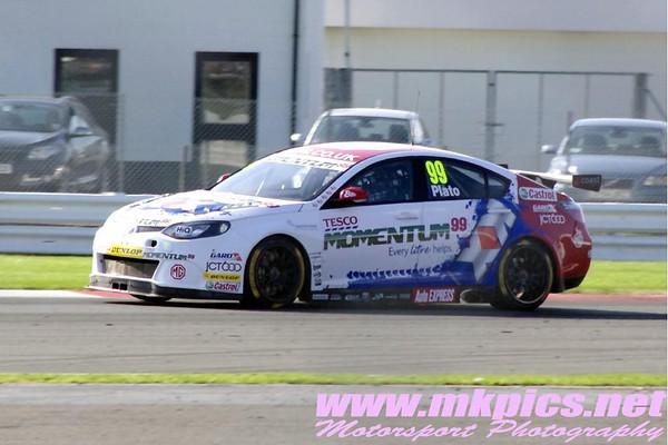 BTCC, Silverstone, 29 September 2013