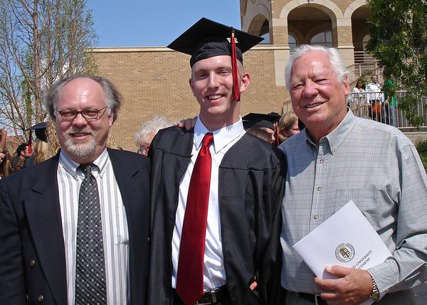 Chris Peterson's TX Tech Graduation