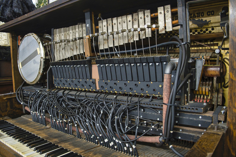 Hydraulic Player Piano