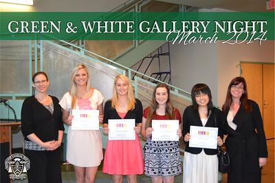 Green & White Gallery Night 2014