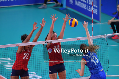 20190528 USA-SERBIA Pool 5 week 2 (Femminile)