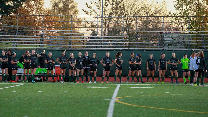 2019 OSAA Womens Soccer Playoffs Beaverton vs Wilson