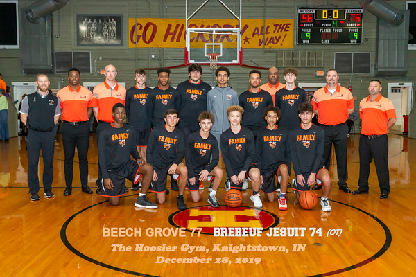 Beech Grove vs. Brebeuf at The Hoosier Gym_12.28.19