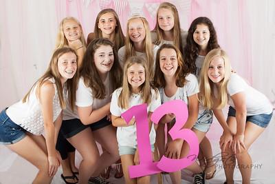13th Birthday Party Shoot