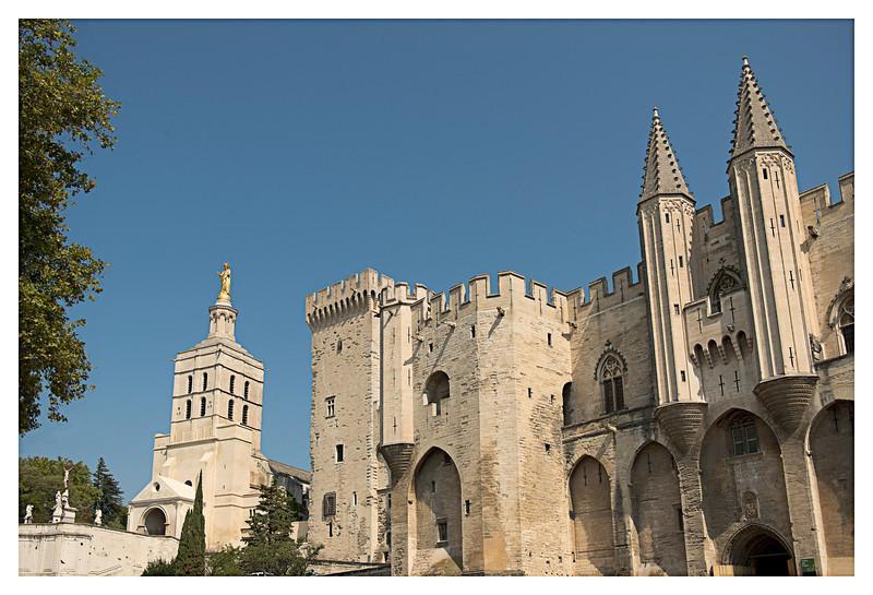 Palais du Papes in Avignon