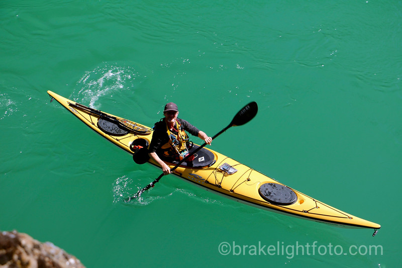 Kayaking Miles Canyon