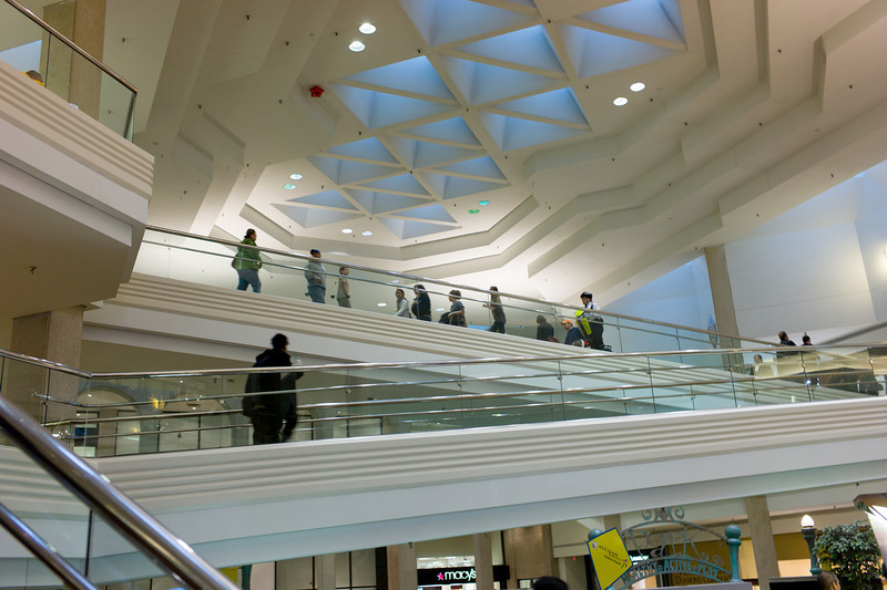 Woodfield Mall in Schaumburg, Illinois on February 10, 2013. (Jay Grabiec)