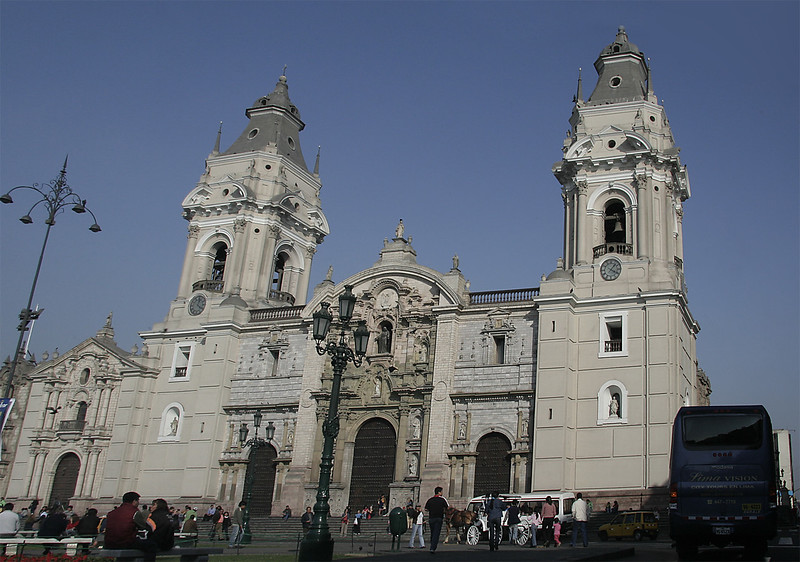Monasterio de San Francisco - home of the catacombs and impressive library of antique texts.
