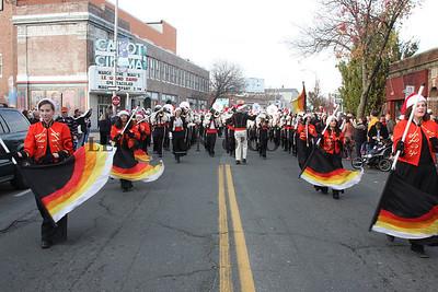 Nov 27, 2011 - Beverly High School Marching Band - Holiday Parade