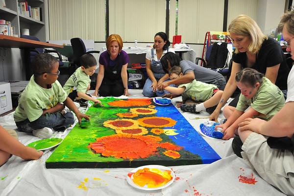 ARTreach at the RISE School