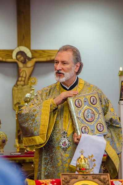Bishop Irinej's visit to St Luke Serbian Orthodox Church