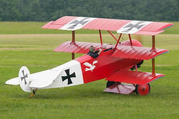 F-AZAQ - Fokker DR1 Triplane replica