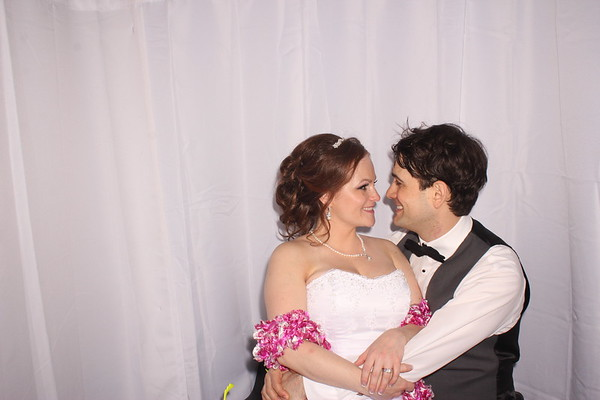 Amanda and Alex's Wedding Photobooth