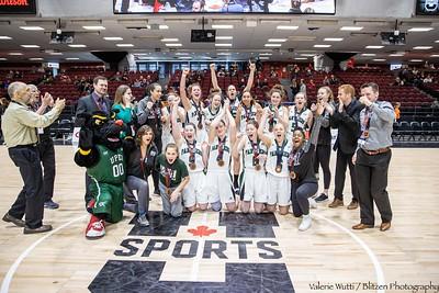 20-03-08 WBB Bronze Medal Game:  Laval v UPEI