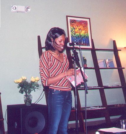 First Poetry Reading/Book Signing - October 12, 2003
