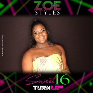 October 26, 2019 - Zoe Styles Sweet 16 Turn Up