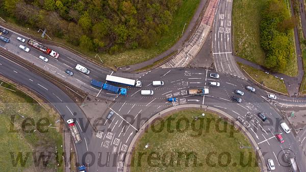 2021 Sheriffhall Roundabout