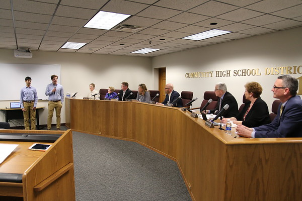 March 20, 2018 Board Meeting