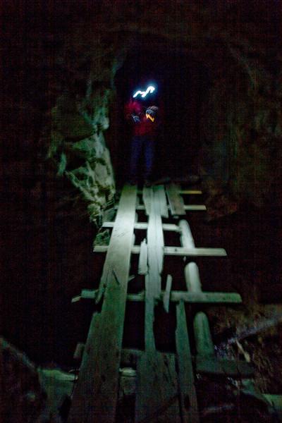 """""""The Bridge of Doom.""""      (Don't look down)"""