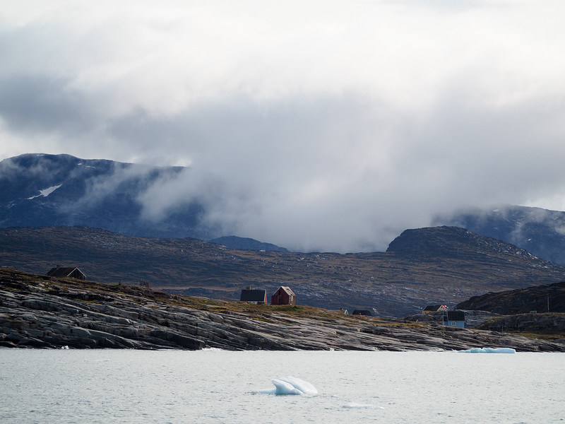 Leaving Oqaatsut, Greenland