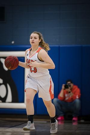 WBL Girls JV Basketball -V- Woodbury 2020