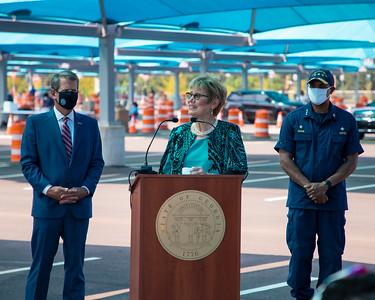 8.10.2020 Atlanta Airport Testing Site