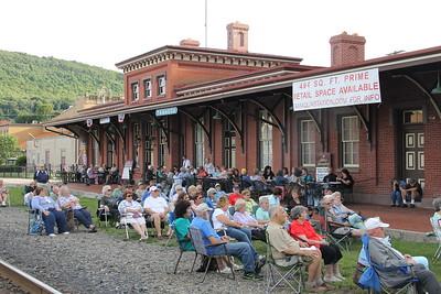 Gene Morrison & Family, Chamber of Commerce Summer Concert Series, Train Station, Tamaqua (7-24-2014)