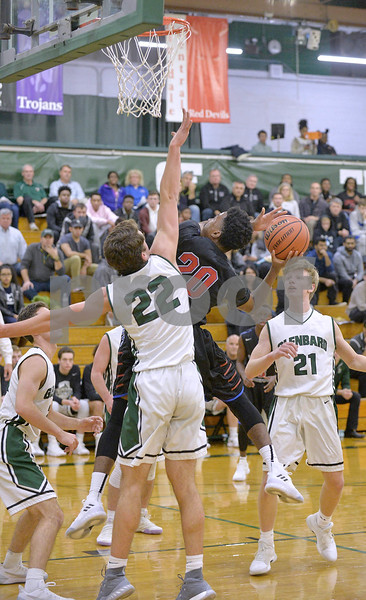 Glenbard West vs Glenbard South boys basketball