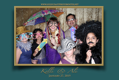 Kelli & Ali Wedding Reception 2019