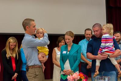 October 25, 2015 - Worship - Dedication - Baptism - Founding Members