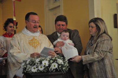 Charlie Wall's Baptism