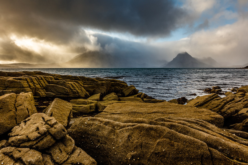 Elgol with amazing light