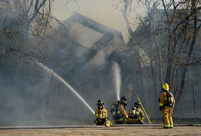 Photos: Building Fire in Longmont