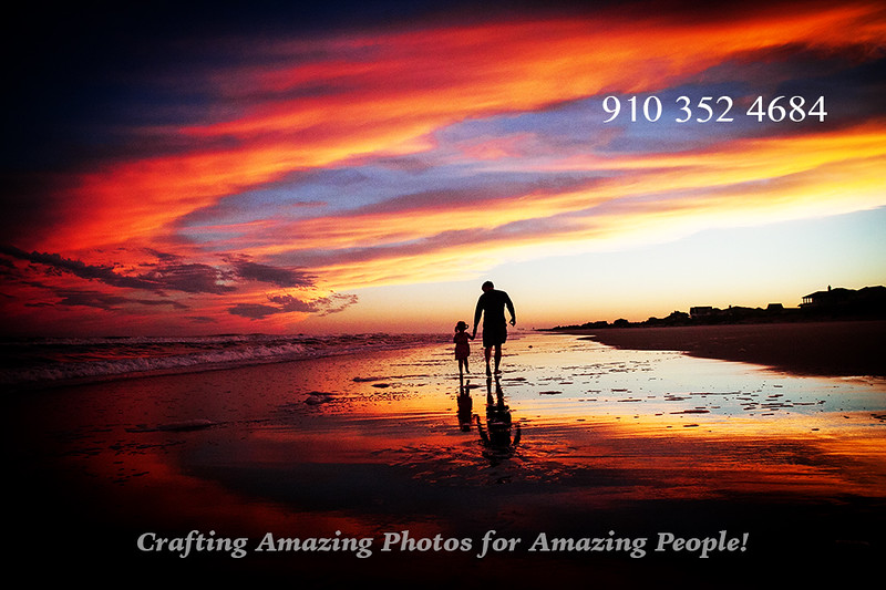 Sunset Family Photos on Topsail Beach NC-L.jpg
