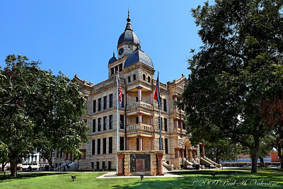 Denton Courthouse Square 08-16-09