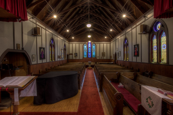 St Michael & All Angels Anglican Church - Chemainus