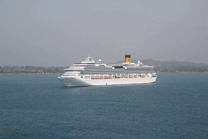 2008 - M/S COSTA SERENA offshore Katakolon.