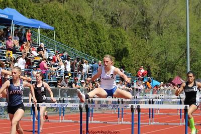 Girls 100m Hurdles Prelims