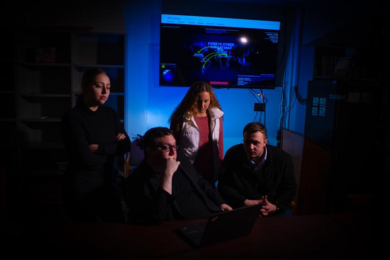 Cybercrime shoot