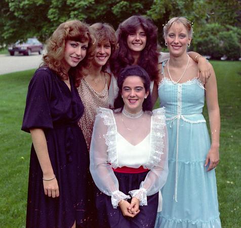 Debbie senior prom