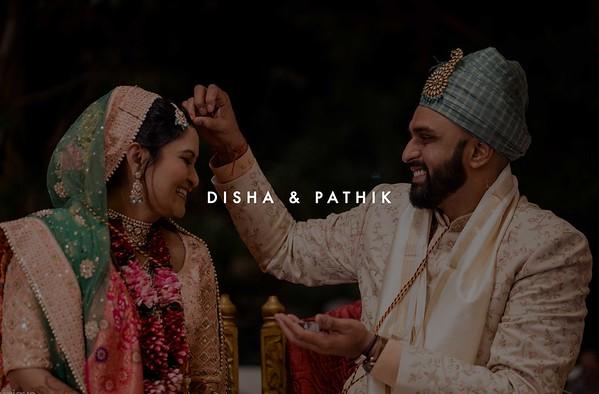 Disha and Pathik | December 2019