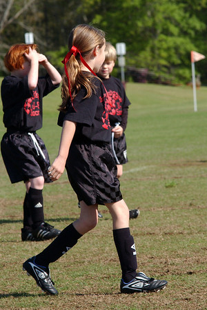4 2 11 - Dawgs vs. Dragons - U-8 Soccer
