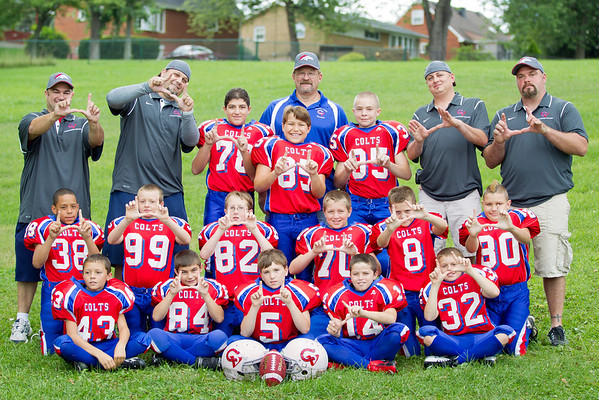 2012 CVJR COLTS - FOOTBALL
