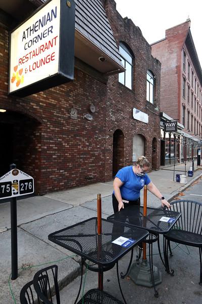 Athenian Corner restaurant in Lowell 111420