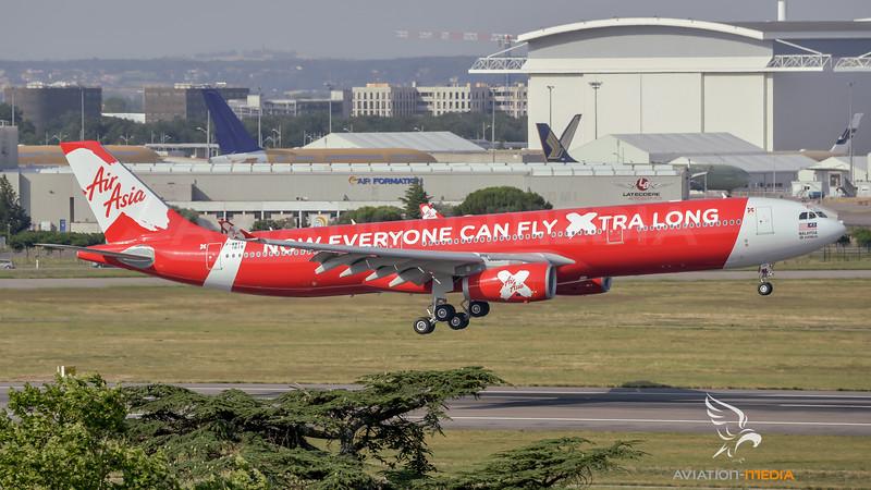 Thai Air Asia X / Airbus A330-343E / F-WWYI (to be HS-XTE)