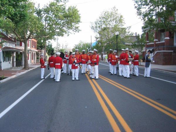 Dillard Guard participates in the Winchester Parade