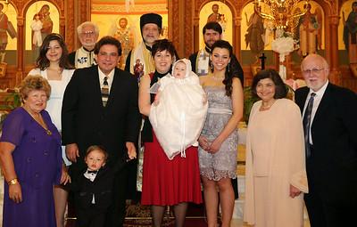 Baptism of Alexia Vougiouklakis