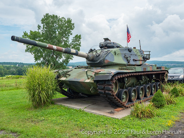 American Legion Post 1134 - Dryden, NY - M60A3TTS