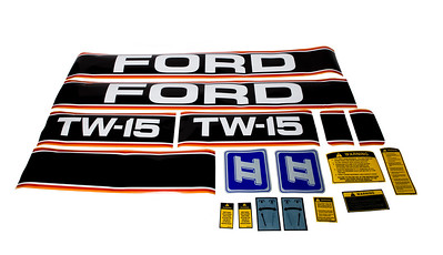 FORD TW 15 SERIES II BONNET DECAL SET